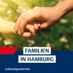 Titel Lebenlagenbericht Familien in Hamburg